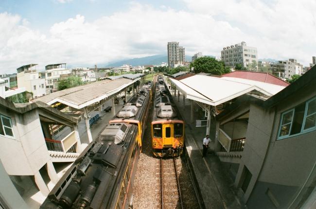 内湾線鉄道(画像提供:ロマンチック台三線芸術祭)