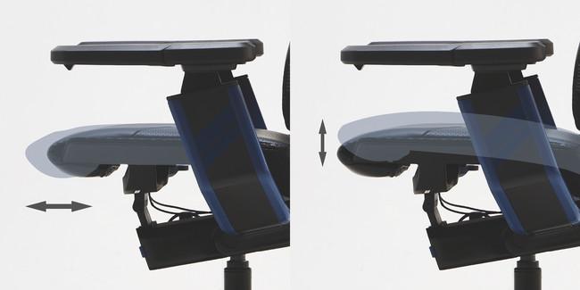 Type-B 前傾チルト 座面奥行調整機能