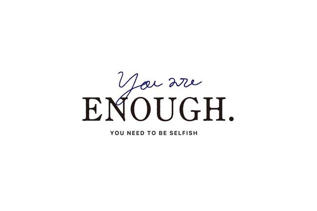 You are ENOUGH.(ユア・イナフ)ロゴ