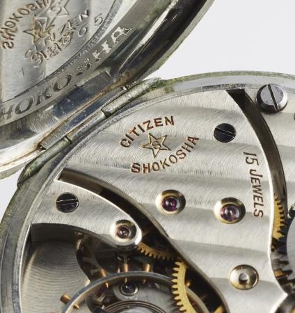 16型懐中時計内部
