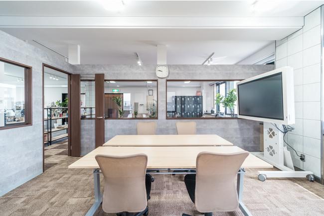 ▲開放的なオフィス