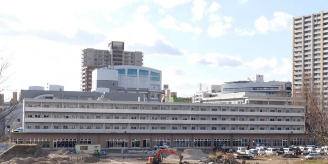 ナレッジシェアファーム(仮称)。STUDIO広島が1階に入居するほかコンビニや賃貸マンションなども整備される