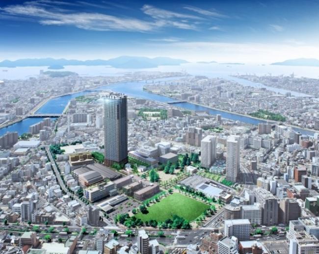 「hitoto広島」の完成予想図