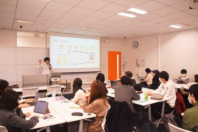 株式会社CyberOwl(マネ会・aukana・モノレコ・脱毛口コミランキングなびを運営)による講義風景
