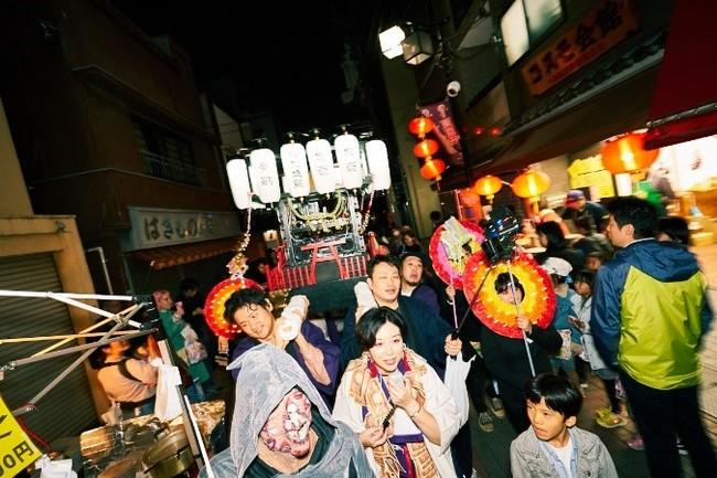 2019年度開催「仮想通貨奉納祭」より Photo:黒羽政士