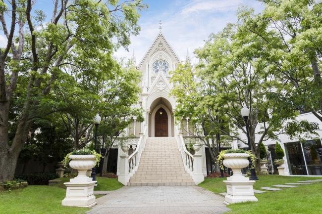 セントグレース大聖堂外観