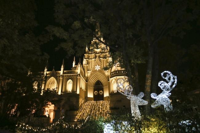 大聖堂ライトアップイメージ