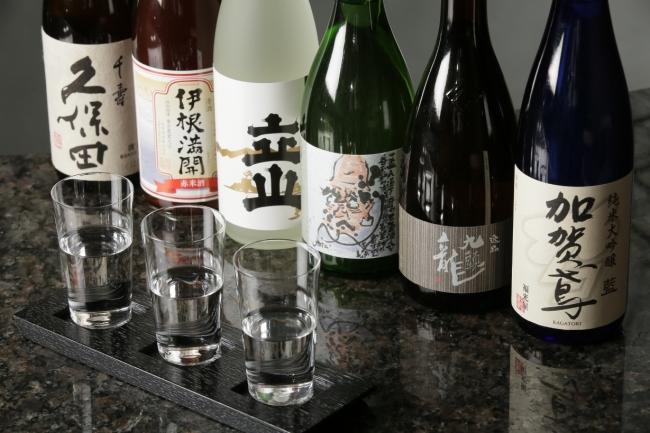 ▲北陸三県 日本酒飲み比べセットイメージ