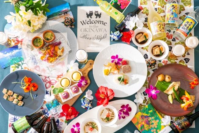 ▲ホテルシェフが手がける本格的な沖縄郷土料理