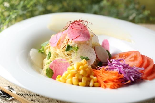▲ホテル特製の北海道料理