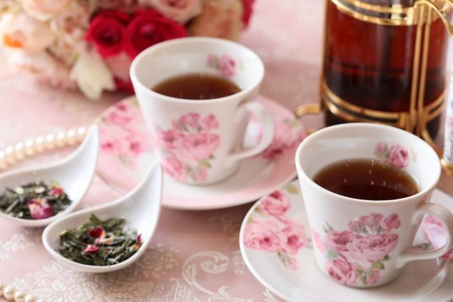 """▲""""マリアージュフレール""""や""""おちゃらか""""など紅茶も豊富にラインナップ"""