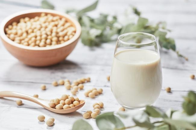 大豆イソフラボンが豊富な豆乳