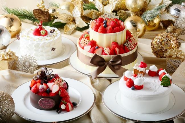 クリスマスケーキ4種