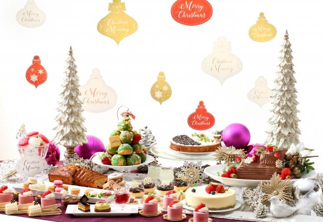 クリスマスデザートブッフェイメージ