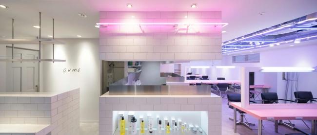 原宿の人気美容室「GAME by alansmithee」の内装デザインも担当