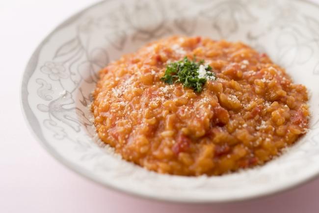 トマト麹チーズリゾット