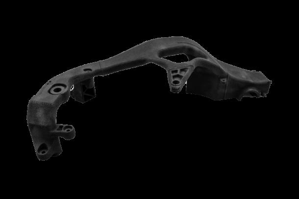 BASF社「PA11」はXYZプリンティング純正材料として2021年6月より発売を開始。 リサイクル率65%を実現したヒンジ形状に最適な材料である。