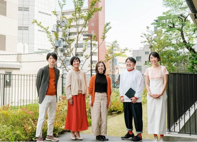 ミートキャリア代表取締役CEO喜多村若菜(中央)と参画メンバー