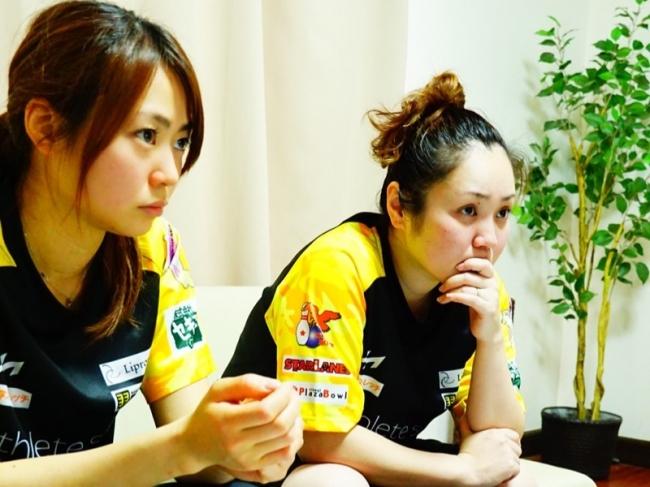 1.2. スポーツと爪のセミナーを受けるボウリング 高坂選手と同 浅田選手