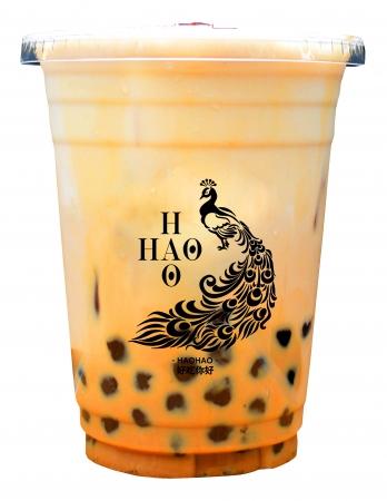 【ミルクティー】紅茶の風味がしっかりとした HAOHAO定番メニューです。 迷った時、まずはコレ! ¥490