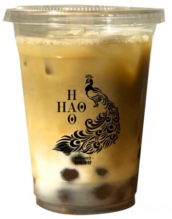 【ほうじ茶ラテ】抹茶と同様、お茶ならではの風味が口いっぱいに広がります。¥550