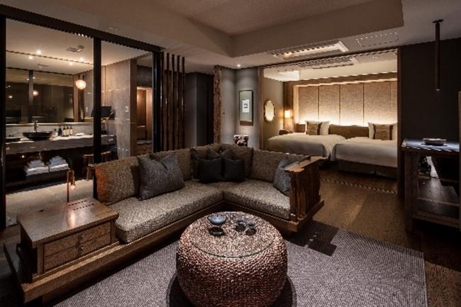 【客室】70㎡以上の広さ 全30室