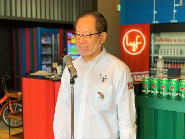 株式会社アスコットジャパン 代表取締役 兼 キャピタランドジャパン代表取締役 タン・ライ・セン