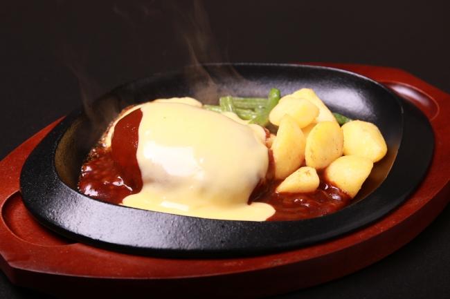 【チーズ好きの方はぜひ!】たっぷりのデミグラスソースとチーズで召し上がれ。