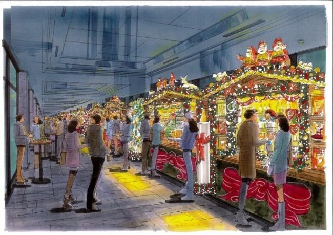 クリスマスマーケット イメージ