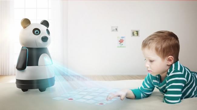 BML050を使用したソーシャルロボットとユーザーインターアクションのイメージ画像
