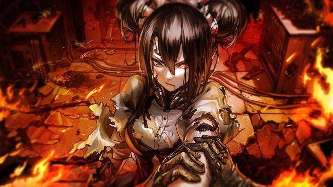▲ 「グリフィン」と敵対する「鉄血」。ある事件が起き、「鉄血」の人形、全てが暴走。人類の敵としてプレイヤーの前に立ちふさがる。