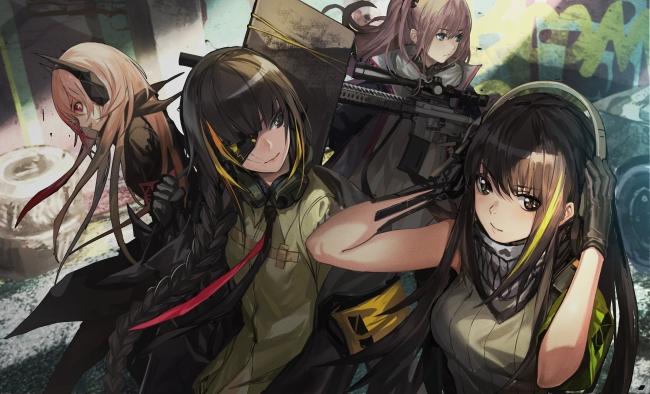 様々な銃器が可愛い女の子に! お気に入りの戦術人形と一緒に戦場を駆け抜けよう!