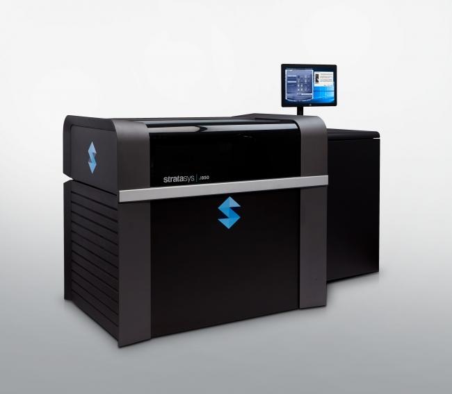 造形に使用されたStratasys J850 3Dプリンタ