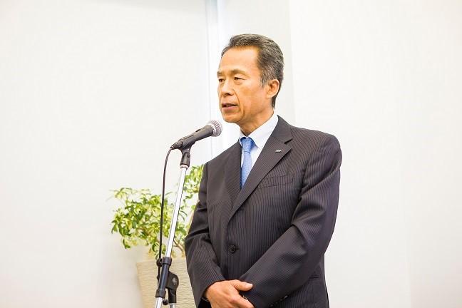 【オーレック 代表取締役社長 今村健二】