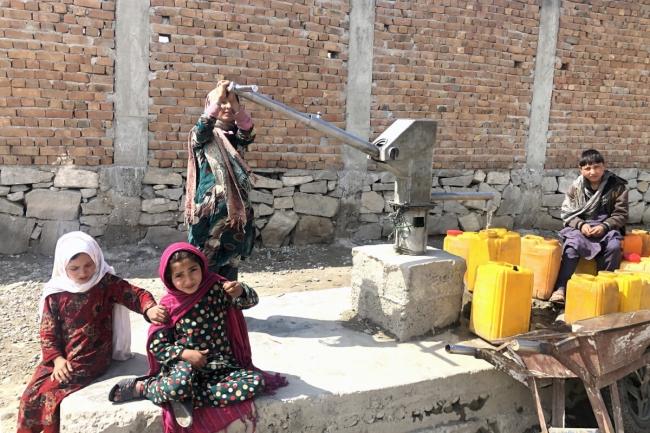 事業対象地 アフガニスタン東部、ナンガハル県ダマン地区の様子