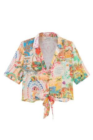 ショートシャツ ¥12,900(tax in)