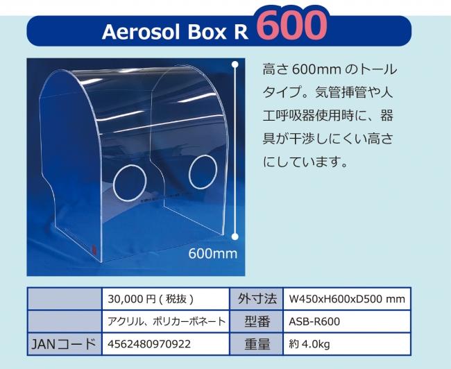 エアロゾルボックスR600