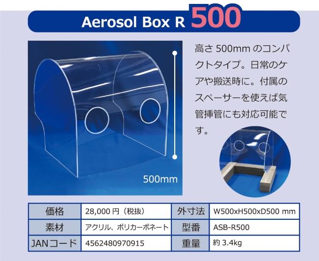 エアロゾルボックスR500