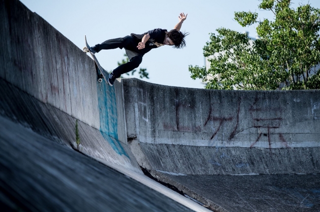 Skater:上村 楓 Photoby:枡竹佑也