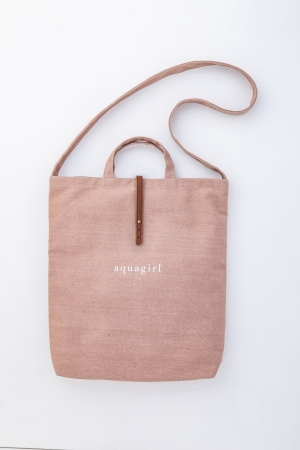 Lady design tote bag
