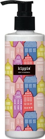 Kaupunki(街) 人々の笑顔があふれ、カラフルに彩られたアムステルダムの町並みをデザインしました。