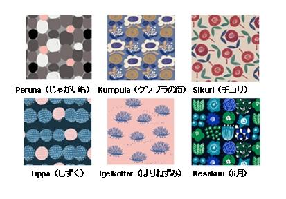 ◆ 「キッピス」の2018年春夏のテキスタイル