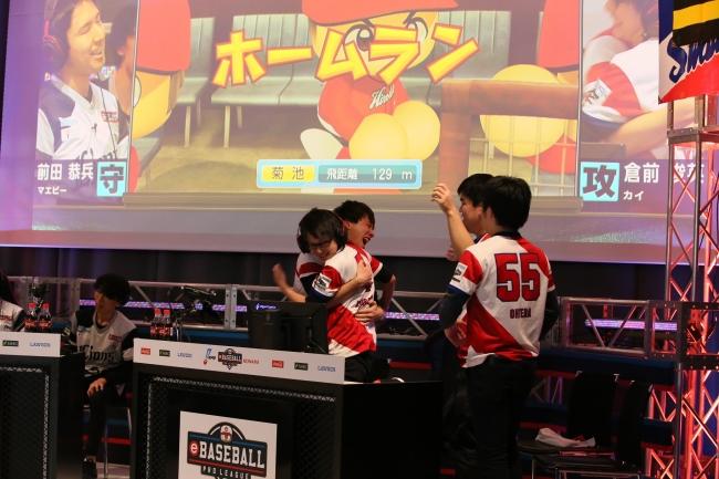 2日目:第4試合:西武(前田恭兵)× 広島(倉前俊英) (C)Nippon Professional Baseball (C)Konami Digital Entertainment
