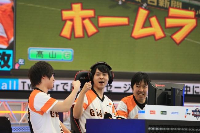読売ジャイアンツ  ⓒNippon Professional Baseball  ⓒKonami Digital Entertainment