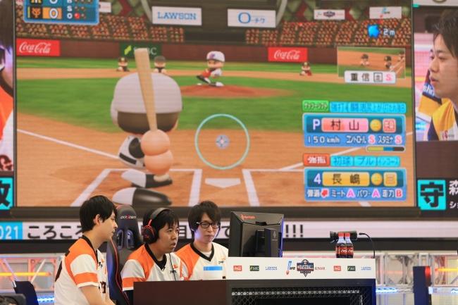 レジェンドOB:長嶋茂雄選手vs村山実選手、夢の対決が実現  ⓒNippon Professional Baseball  ⓒKonami Digital Entertainment