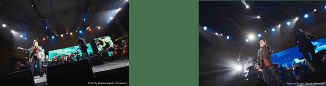 写真左:ささきいさお、右:水木一郎