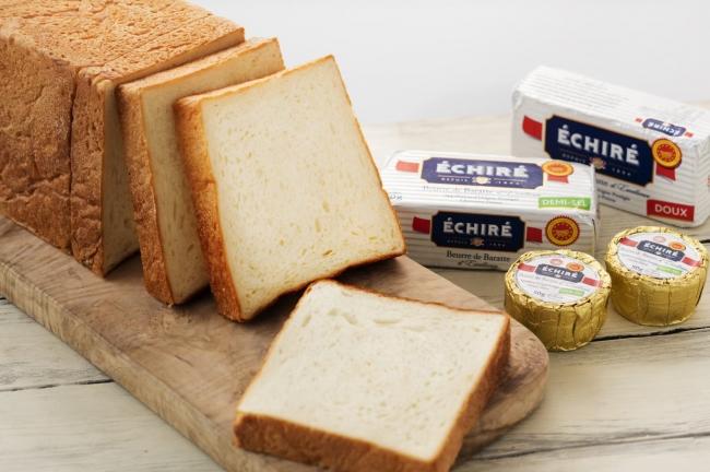 フランス産最高級発酵バターを使用した究極の食パン『ふじ森』
