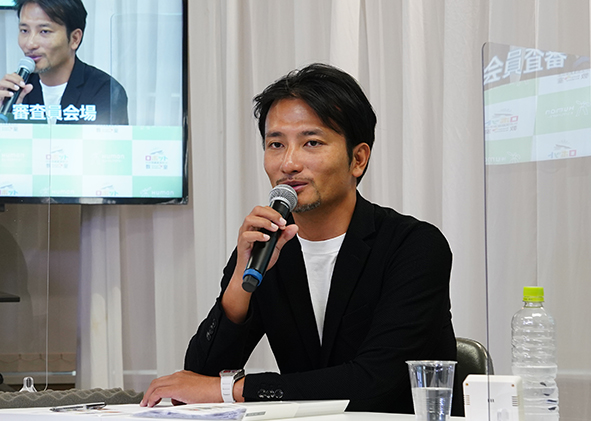 ▲高橋智隆先生による総評の様子