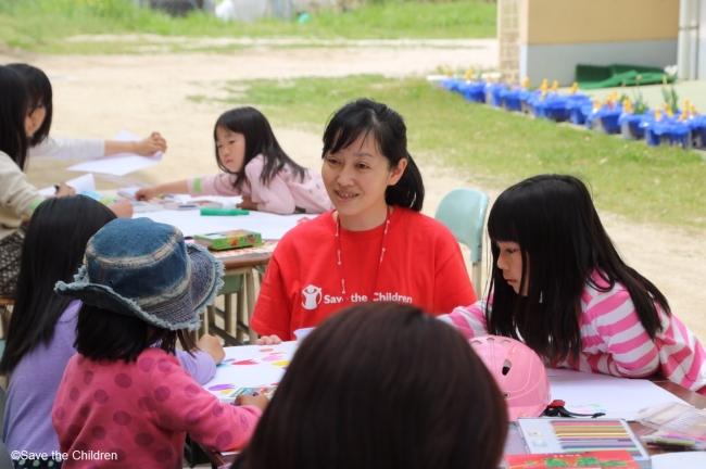 【熊本地震】セーブ・ザ・チルドレン・ジャパンが避難所に「こどもひろば」を開設