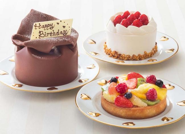 ※ケーキは3種よりお選びいただけます